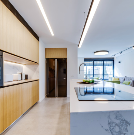 A high-end apartment in Israel