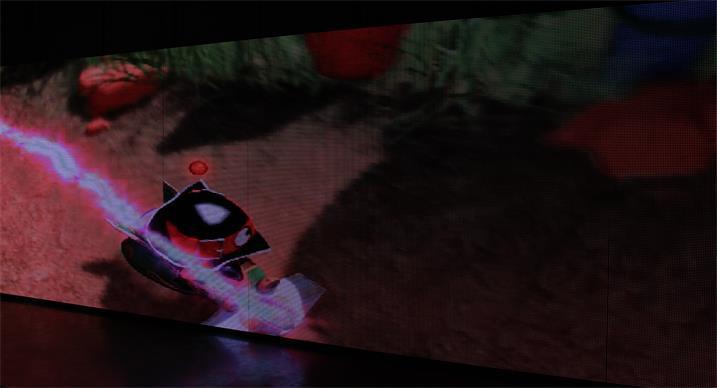 昆明动物园LED户外传媒屏专用P20户外插灯全彩