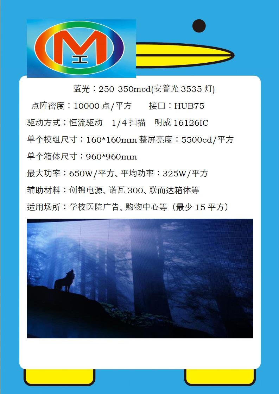 奥马哈光电业内在创P10户外全彩大屏--闪耀温州水厂