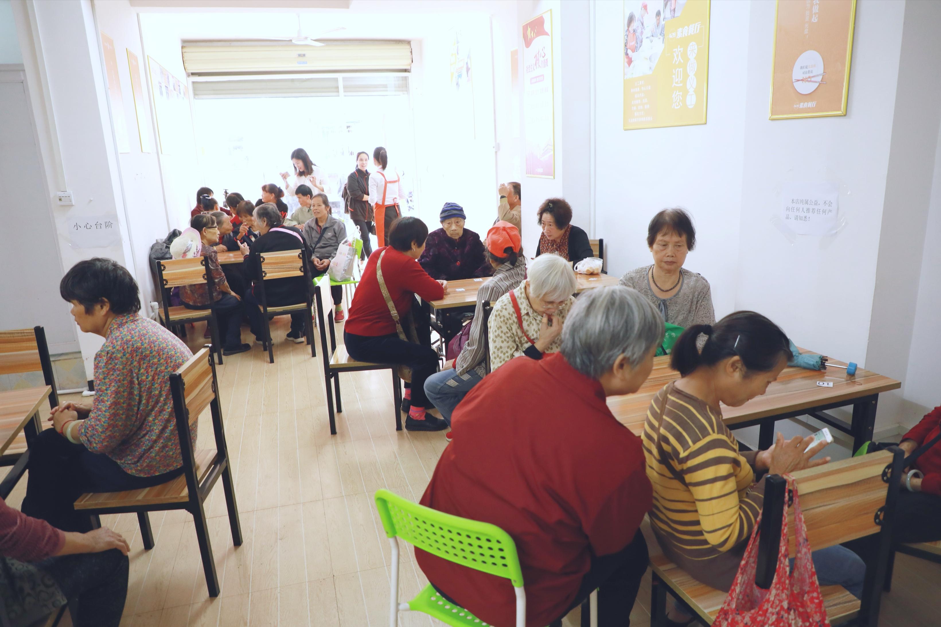 一切为了爱|第十家428免费素食餐厅在百色正式开业
