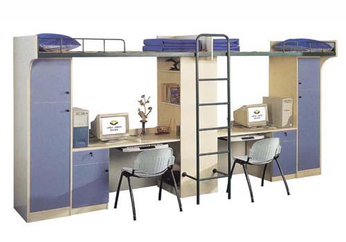 学生宿舍如何选购到一款合适的公寓床?