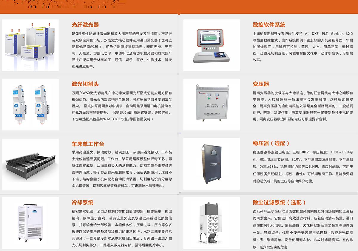 单工作台光纤激光切割机SC-FB1000W