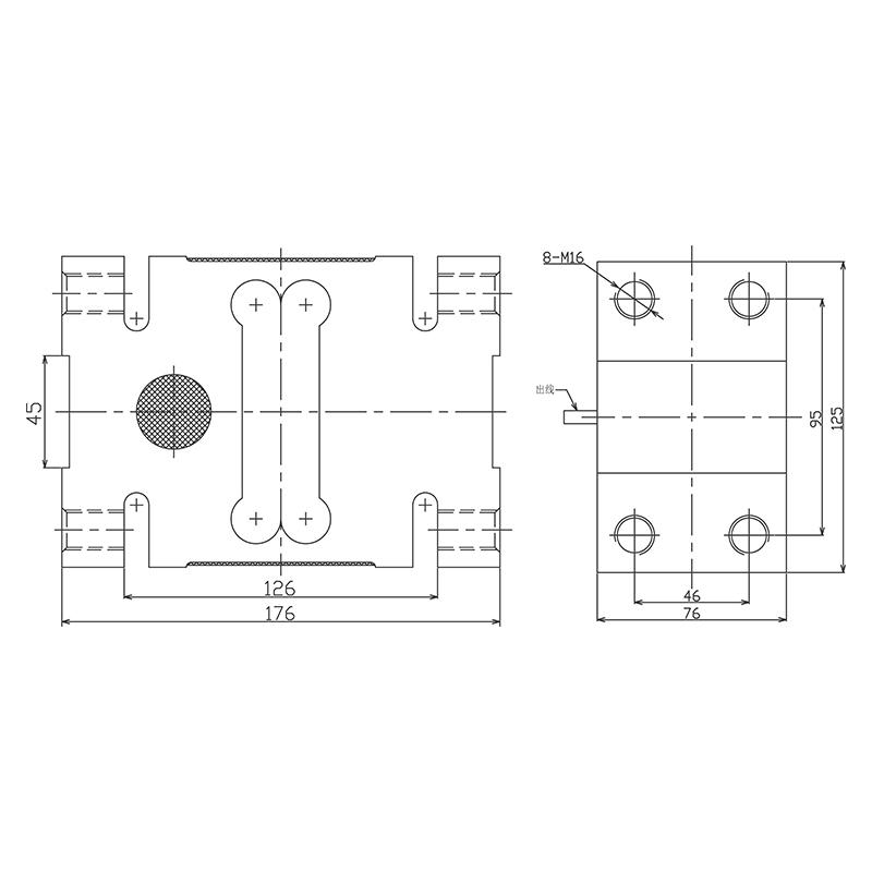 LC1776单点式测力传感器 (型号:LC1776)