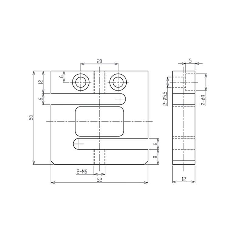 STP-S型拉压两用测力传感器 (型号:STP)