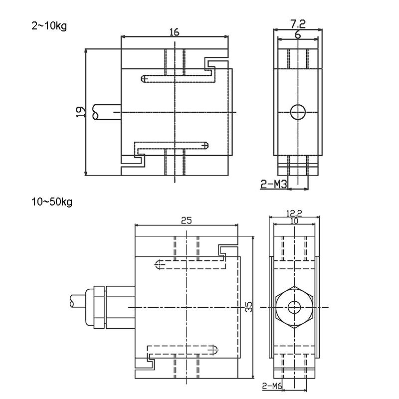 STM-S型称重传感器 (型号:STM)