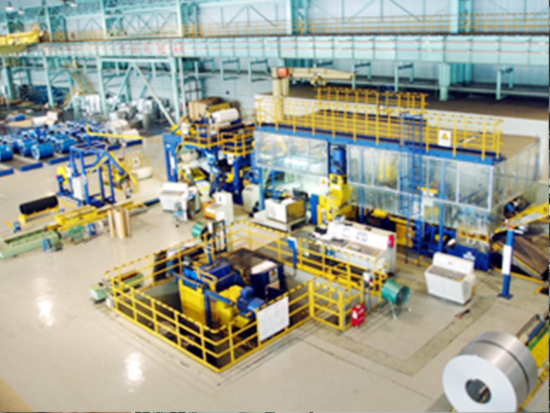 2005宁波宝新四期工程拉矫机组设备安装