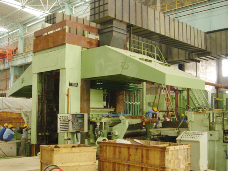 2005温州大自然1450轧机工程设备安装