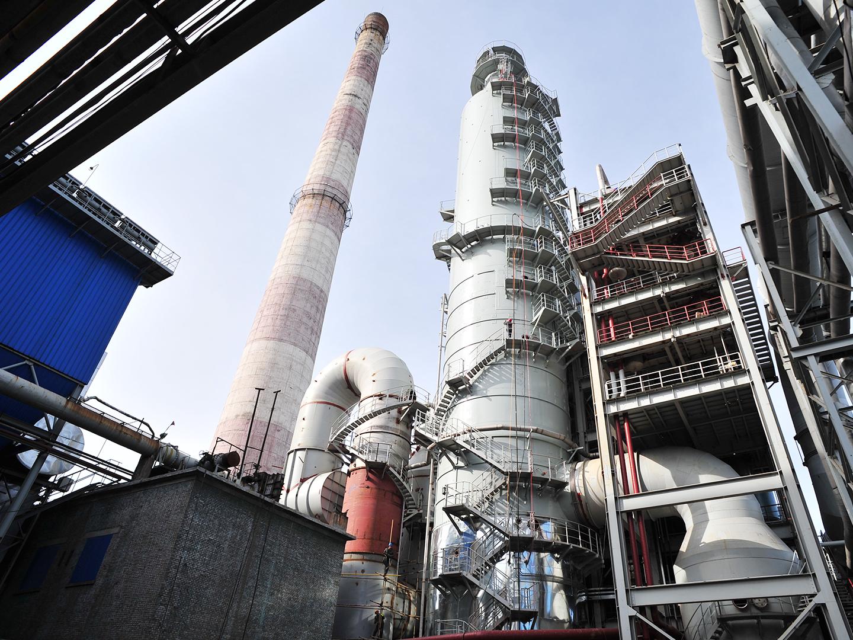 2016内蒙包钢热电厂烟气净化工程