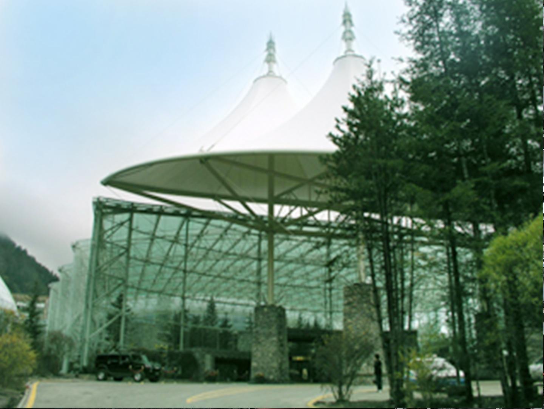 2005九寨沟千海子国际旅游度假会议中心钢结构安装工程