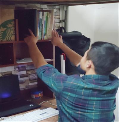 宿我風采 愛在心舍  武科院開展大學生內務整理評比活動