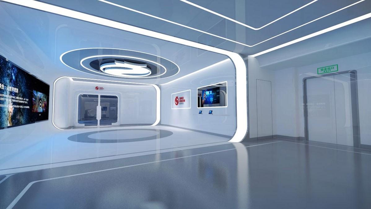 赛诺联合医疗科技展厅