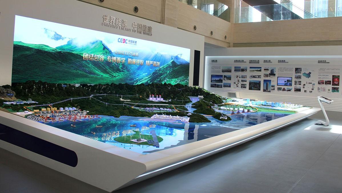 北京企业展厅设计公司发展前景如何
