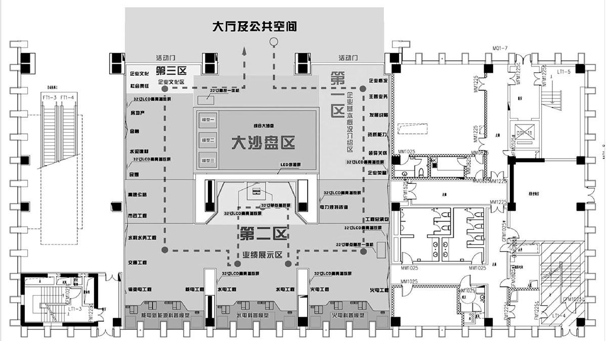 中国能建形象展示厅