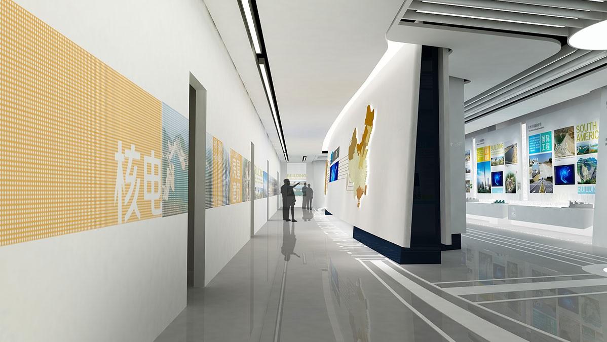 企业营销型展厅设计应该注意哪些要点呢?