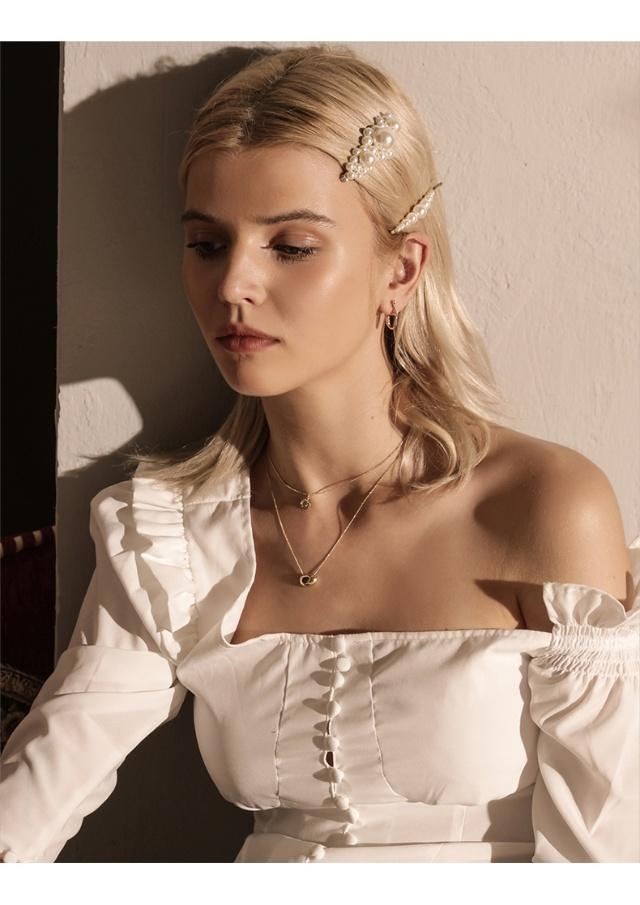 珍珠发卡,到底是什么神仙配饰?刷爆了我的圈