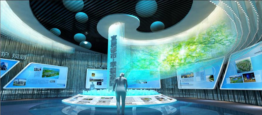 企业展览馆怎么能突出特色