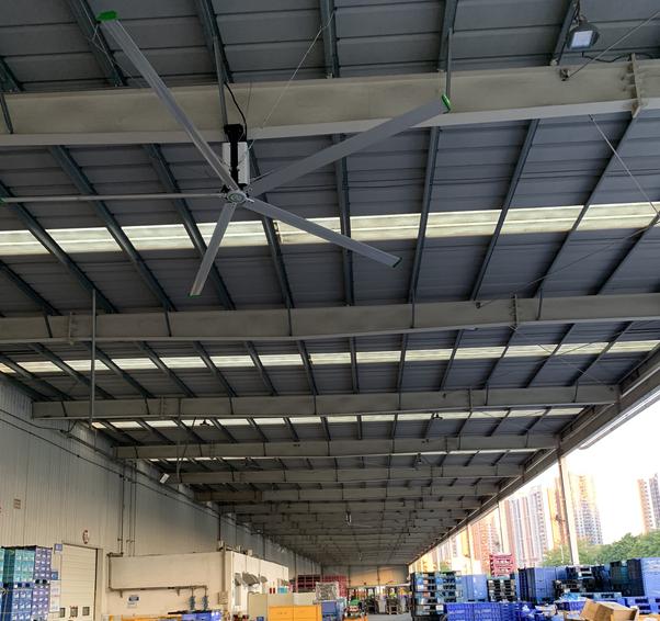 东风日产第二工厂工业大风扇项目顺利验收!