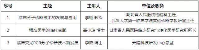 【2017 NCLM预告】天隆与您相约杭州,共话检验