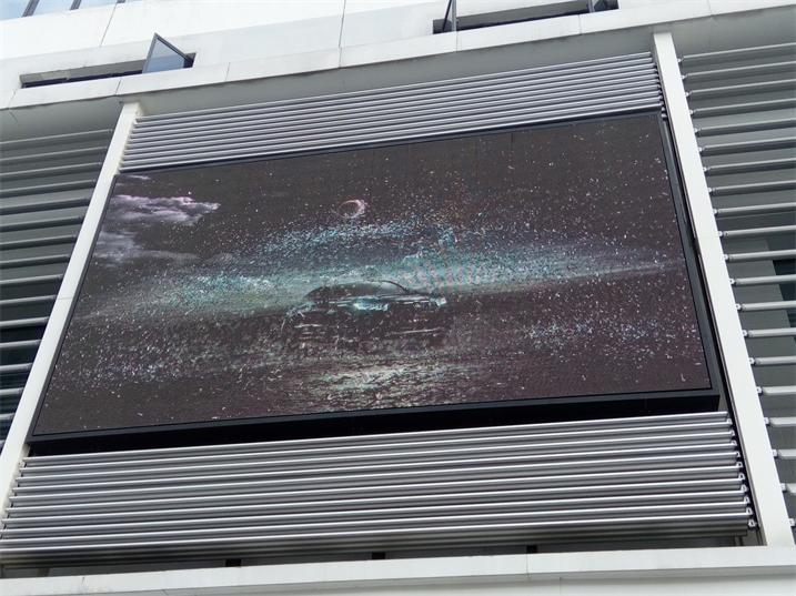湖南岳阳华容交通大队P8户外全彩显示屏专用箱体