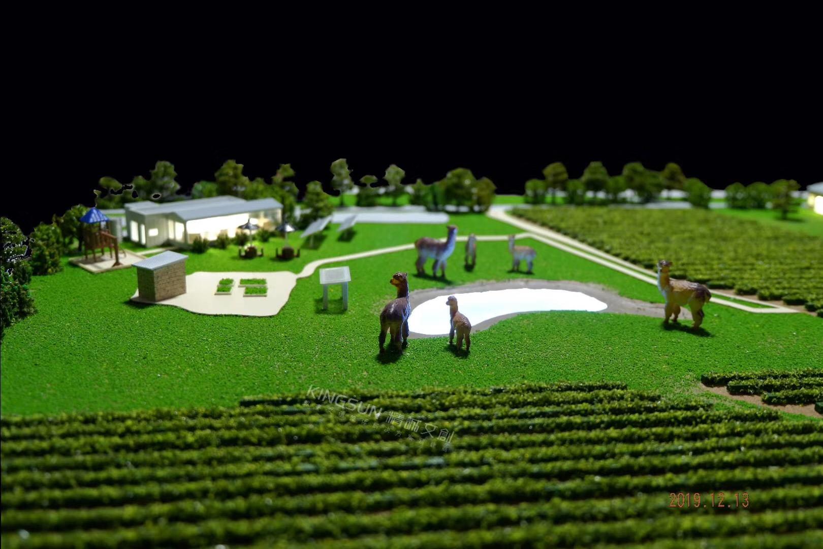 葡萄酒庄模型