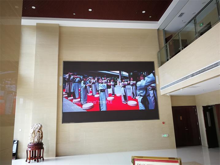 遵义会议会址出入大厅室内高清显示屏专用P1.667租赁箱体
