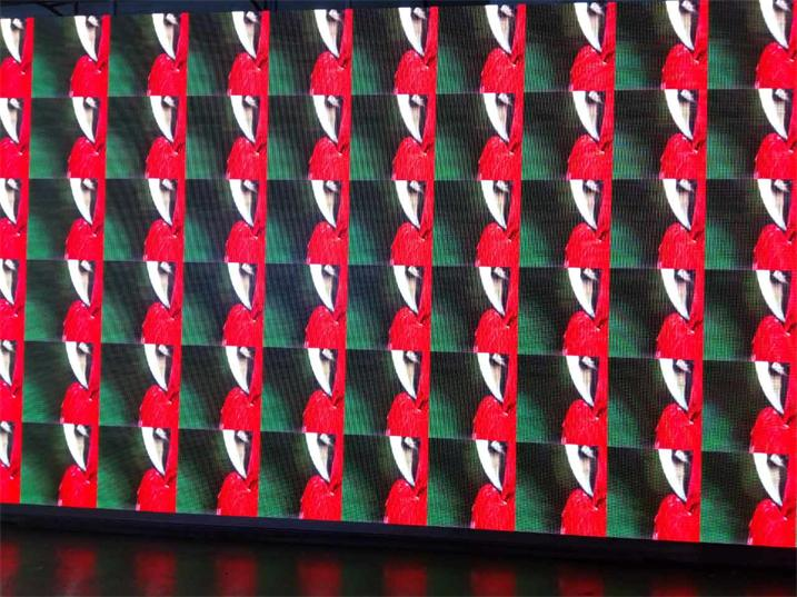 成都市望江剧场会议室LED高清显示屏专用P1.25前维护箱体(奥马哈)