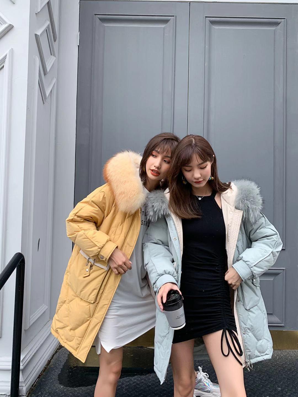 中时海创品牌女装折扣19秋冬【卡弥露羽绒】系列品牌上新