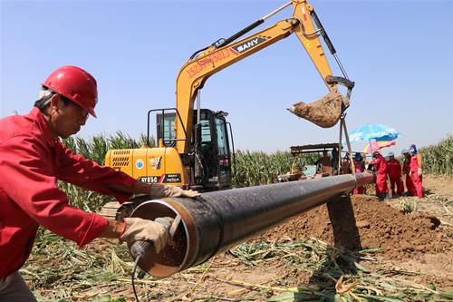 中国燃气六年气代煤攻坚:天蓝地净民心暖