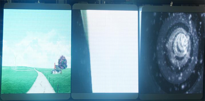 深圳市横岗文体广场公园LED户外全彩屏专用P4全彩简易箱体(奥马哈)