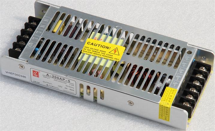 澳门山顶医院LED室内全彩屏专用200W创联电源