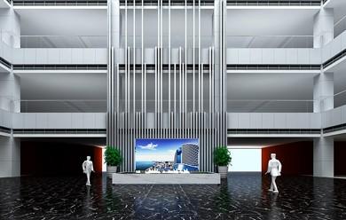 中建幕墙有限公司展示厅