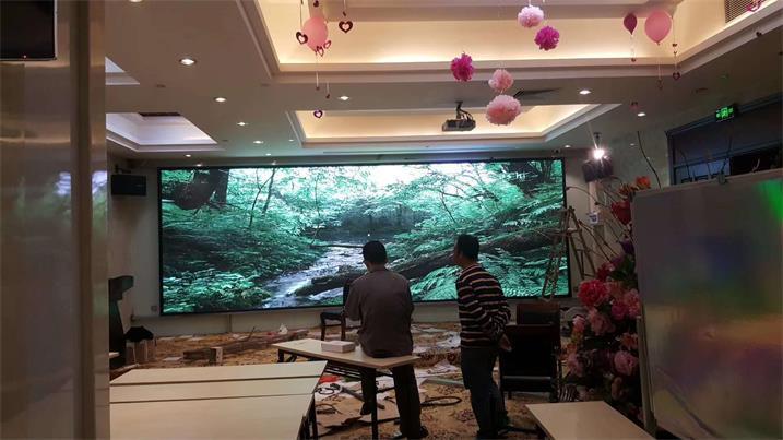 张家口宣化中学多功能厅LED室内显示屏专用P2.5室内表贴
