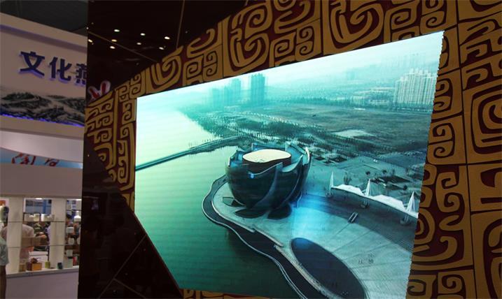 张家界武陵源宾馆宴会厅LED室内全彩屏专用P6室内表贴单元板(奥马哈)