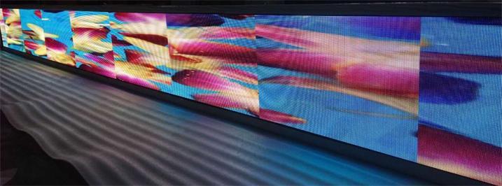 英德市惠万家百货展厅LED室内全彩屏专用P4表贴单元板(奥马哈)