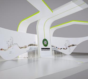 滨州城市规划主题展馆设计