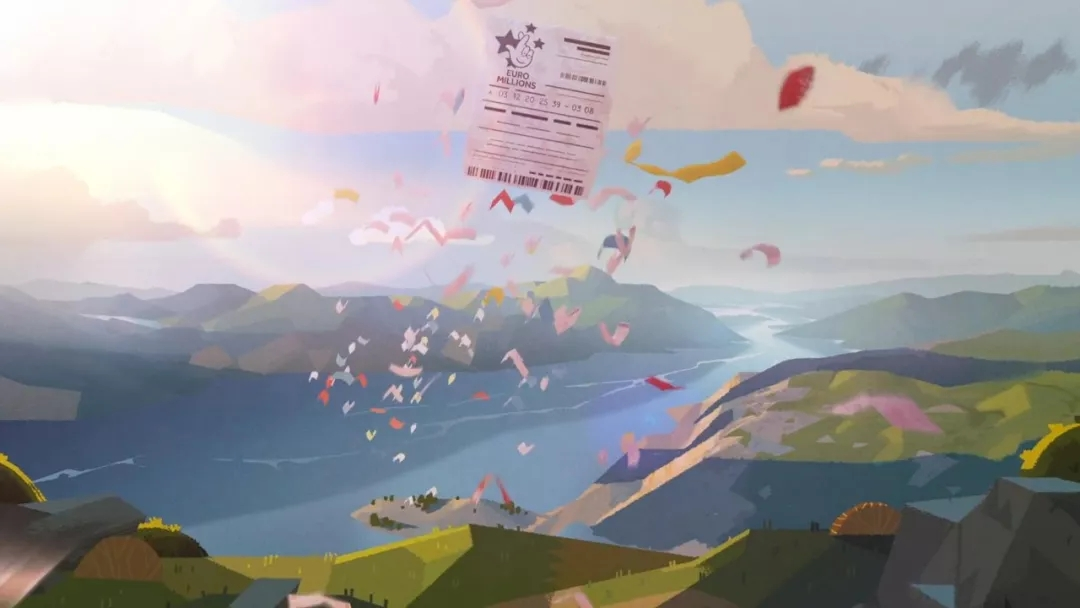 很棒的插画风格MG动画,色彩和光影值得参考!