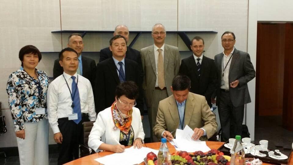 广新信息与世界著名货币防伪公司SICPA签订合作协议