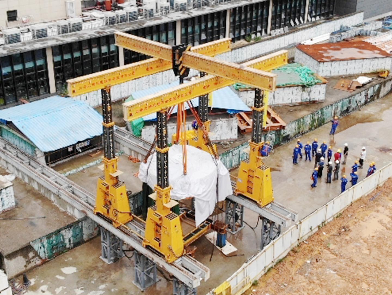 2019  广州国际肿瘤中心质子加速器安装项目