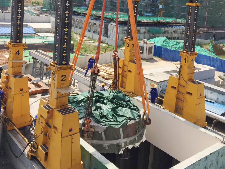 2019 广州国际肿瘤中心质子加速器吊装