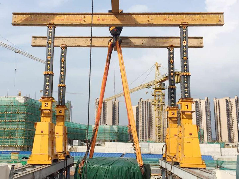 2019 广州国际肿瘤中心质子加速器吊装2