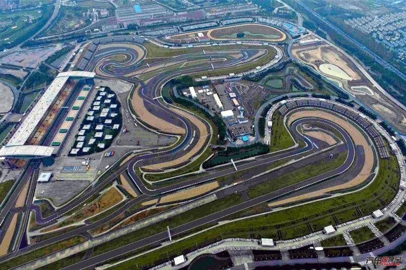 F1上海赛车场