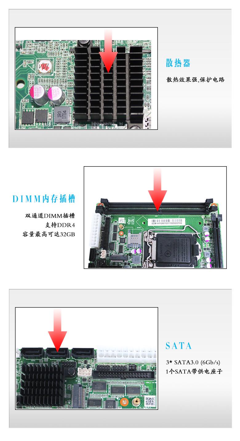 GM-H110 工业嵌入式主板