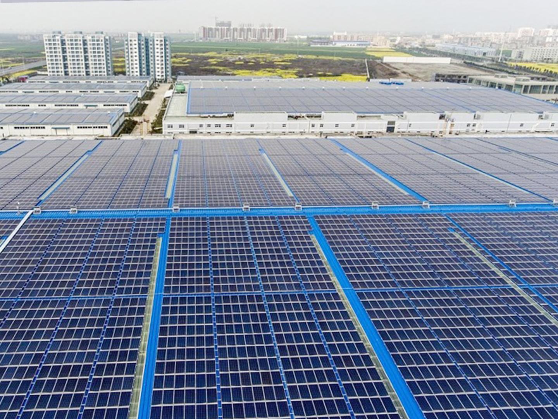 2018 山东莱芜6.44MW分布式光伏电站