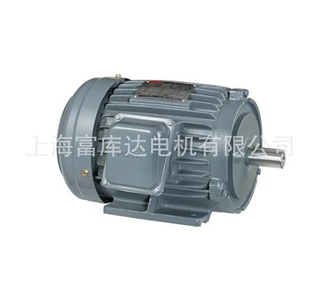 供应台湾富田电机三相感应卧式铸铁马达