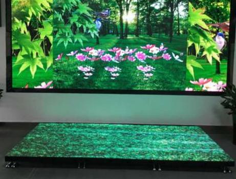 LED地砖屏主要应用行业及使用场地!