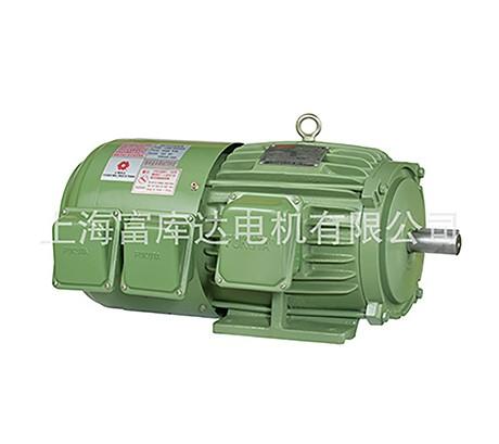 进口台湾富田电机 卧式电机 三相马达