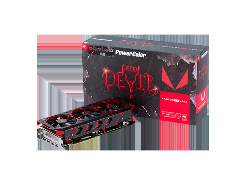 迪兰 DEVIL RX VEGA64 8G