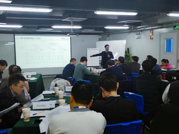 2019年12月6-7日 汉捷咨询为国内某领军企业成功举办了为期2天1晚的《产品经理能力提升》培训