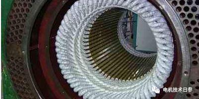如何防治高压电机定子绕组端部出槽口处电晕?