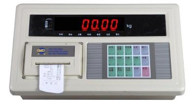 电子地磅称重显示器怎么出现负数怎么调
